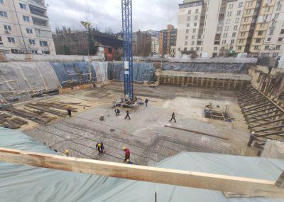 04.03.2020г. - Завършен етап укрепване и подложен бетон
